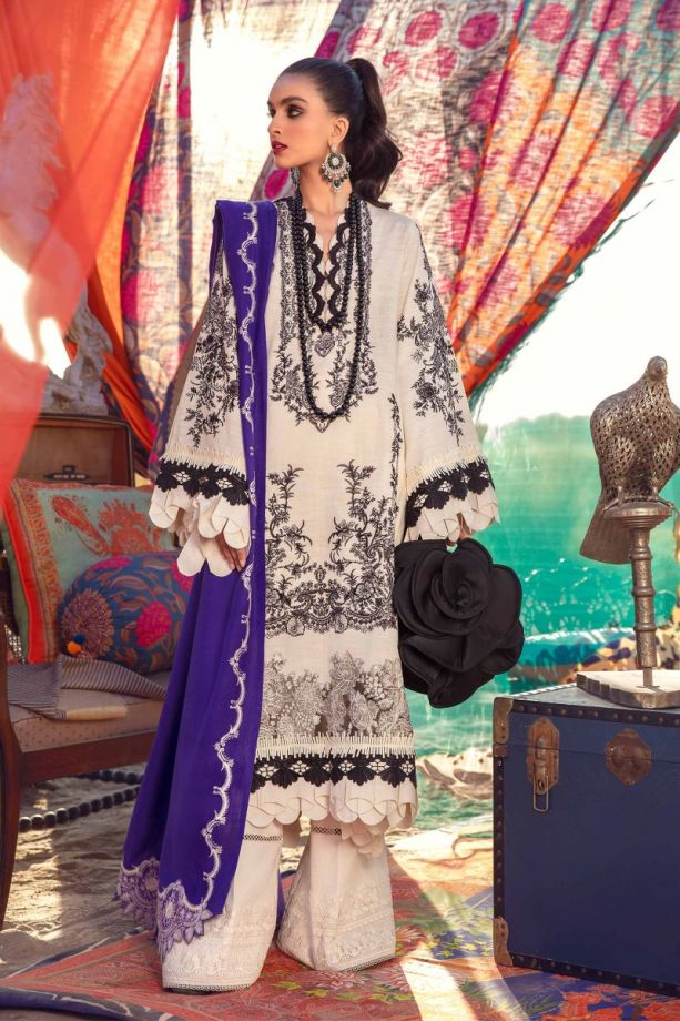 Sana Safinaz Winter Shwal Collection'20 SKU # S201-004B-CP