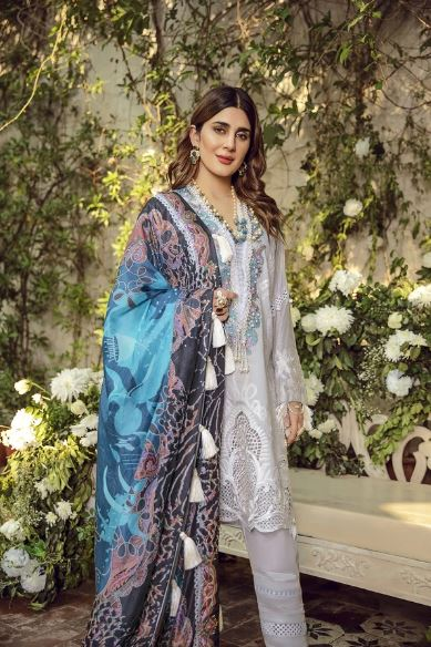 Maryam Hussain Festive Lawn Collection'20 Noor