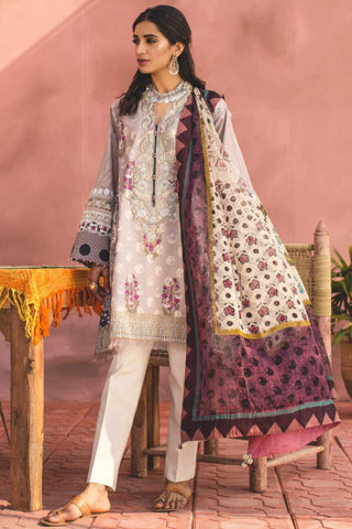 Zara Shahjahan Lawn Collection'19 SKU : SAHARA-B