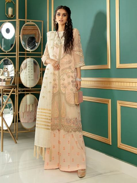 Serene premium CHIMERE Luxury Chiffon Collection'2021 S-1028 Cherry Blossom