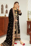 Qalamkar Luxury Velvet Collection'20 V-01