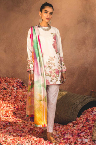 Zara Shahjahan Lawn Collection'19 SKU : SHAAM-B