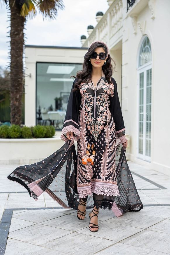 Sobia Nazir Luxury Lawn Collection'21  L21-9A