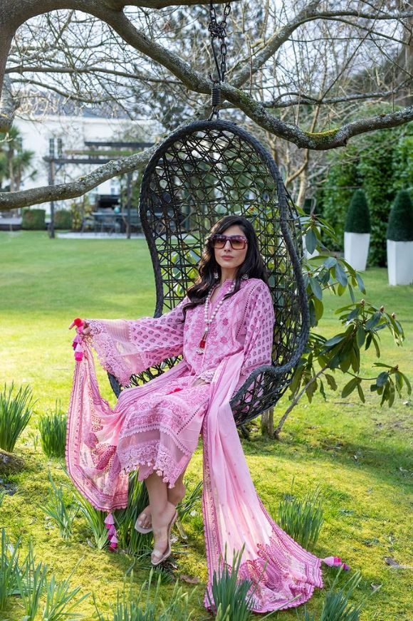 Sobia Nazir Luxury Lawn Collection'21 L21-4A