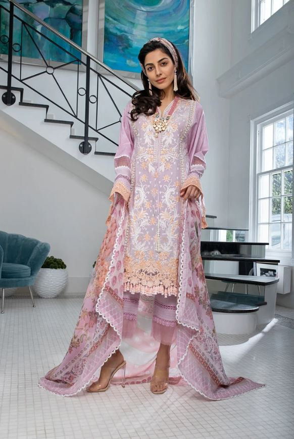 Sobia Nazir Luxury Lawn Collection'21 L21-7B