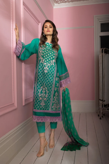 Sobia Nazir Vital Lawn Collection'21 VT21-1B