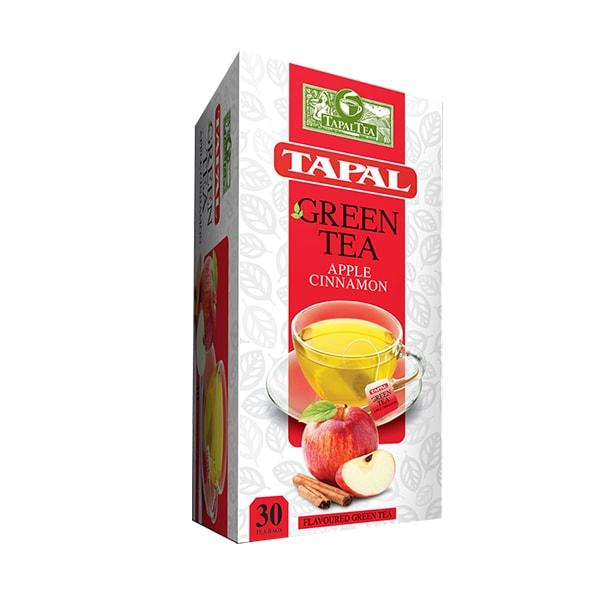 TAPAL GREEN TEA BAG APPLE 45GM