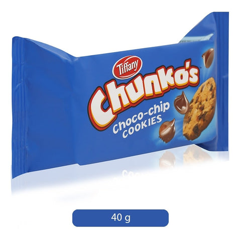 TIFFANY CHUNKO CHOCO CHIP 40GM