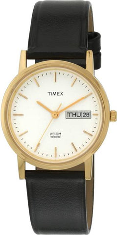 Timex A500 Classic Golden Dial Wrist Watch For Men