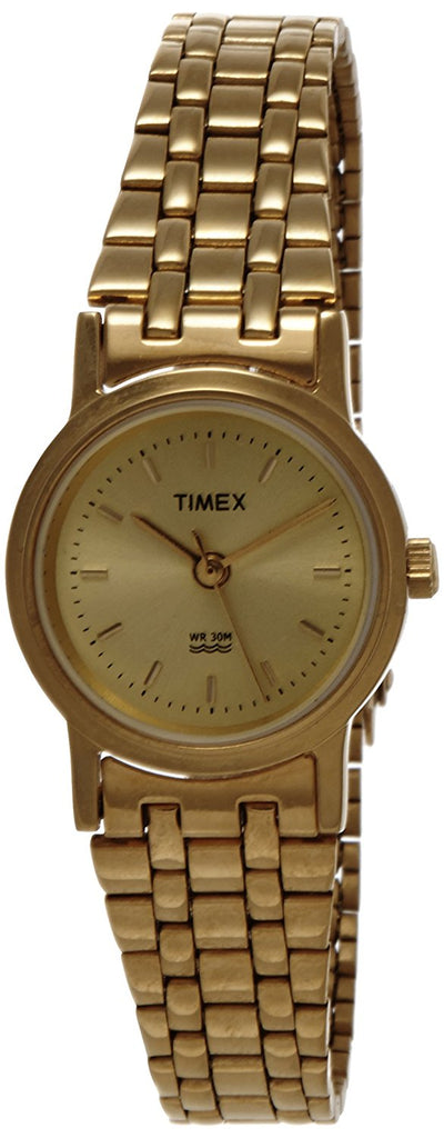 Timex Classics Analog Gold Dial Women's Watch - B304
