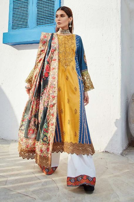 Rang Rasiya Florence Linen Collection'20 SARDAI RR-FLRL-W20-D-635