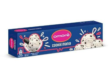 Omore Cookie Mania Brick Ice Cream 800 ml
