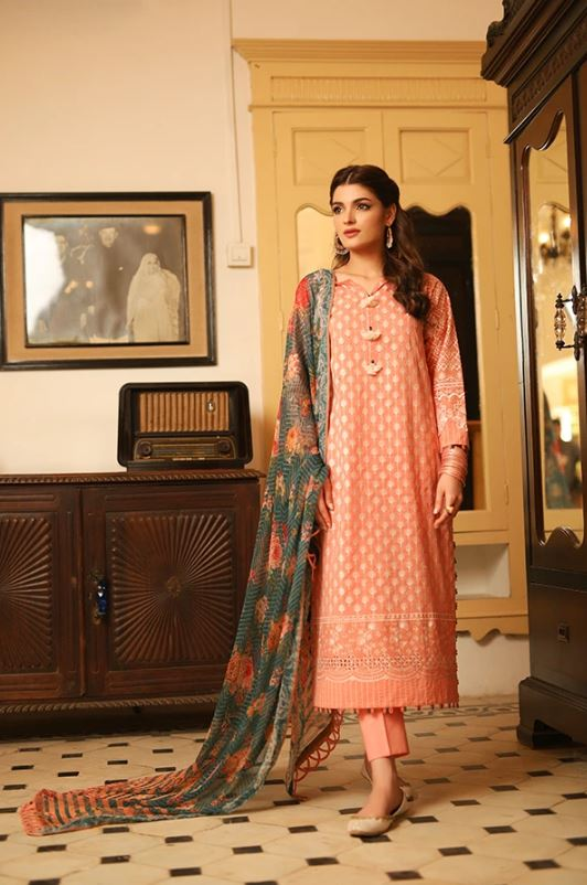 Lakhany by LSM Fabrics Meraki Festive Collection'20 BLC-5011