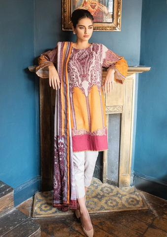 Sobia Nazir Winter Collection'19 PRODUCT CODE: W19-4B