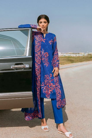 Zaha By Khatija Shah City by the Sea Lawn Collection'21 ZAVOSH (ZL21-14 B)