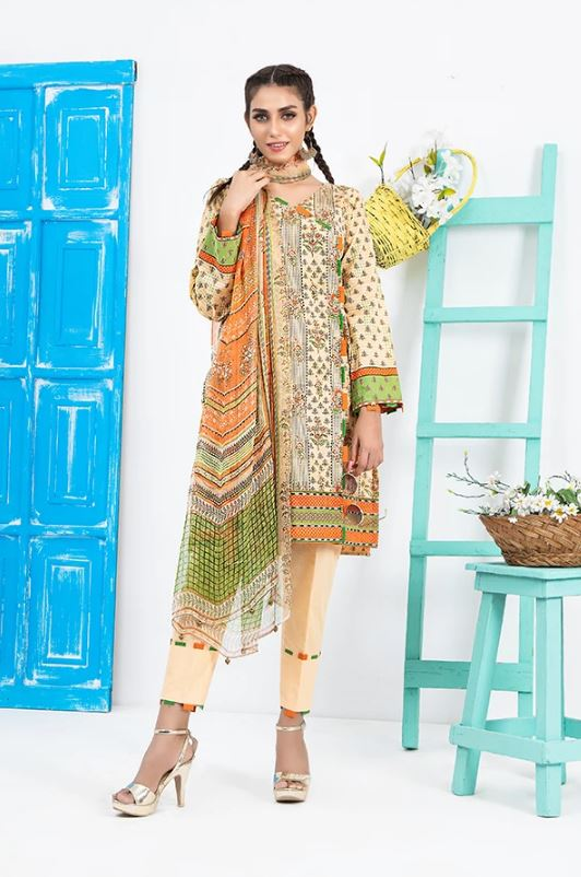 Lakhany By LSM Fabrics Komal Vol-II Summer Collection'20 KP-2019