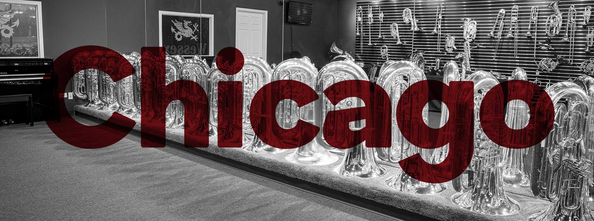 Wessex Tubas Chicago Showroom
