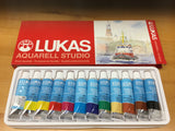 Lukas Aquarell studio tubs