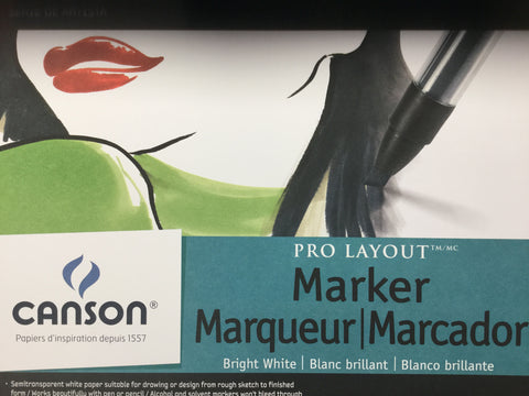 Canson - Marker Sheets