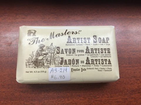 The Masters - Artist Soap