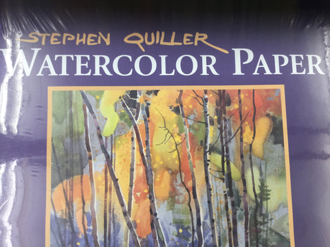 "Stephen Quiller - Watercolor Paper 15""x22"""