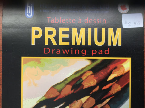 HJ - Premium Drawing Pad