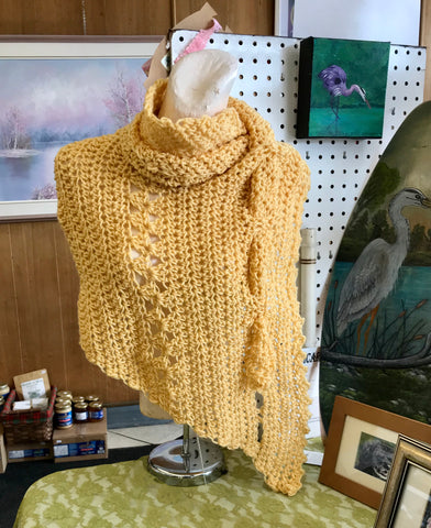 """Here Comes the Sun"" Shawl"