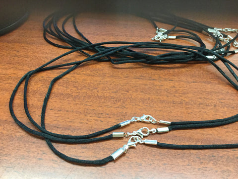 "black 18inch to 20"" cord"