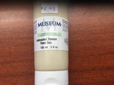 Museum - Heavy Body Acrylic Paint Tubes 150ml and sets