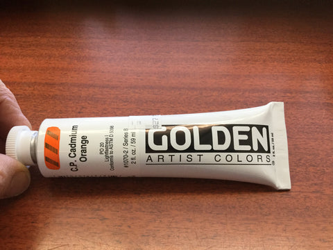 Golden heavy body acrylics 2 oz. tube