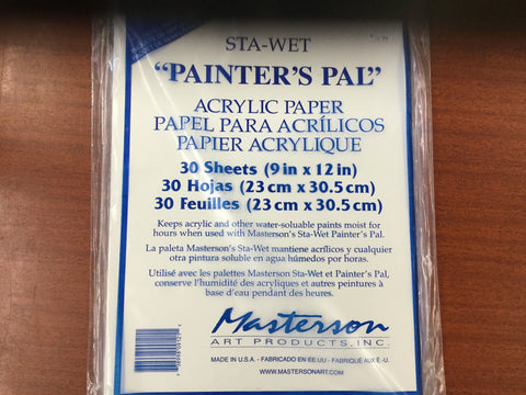 Masterson Sta-Wet Acrylic Paper Refill Pack