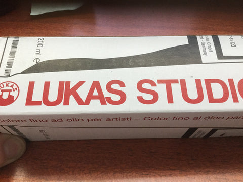 Lukas oil paint 200ml