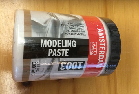 Royal Talens -Amsterdam acrylic modeling paste 1000ml (33.8 fl.oz.)
