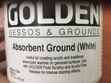 Golden Gessos & Grounds (White)