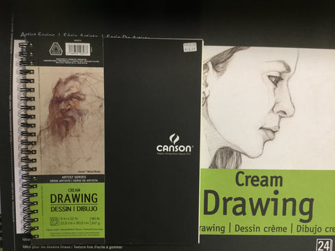 Canson artist series drawing 90lb