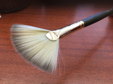 Princeton fan brush #6