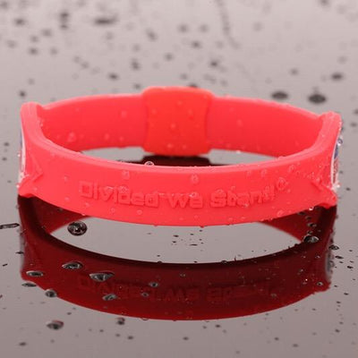 Red Republican Party Hologram Silicone Band - Divided We Stand® Political & Social Gear