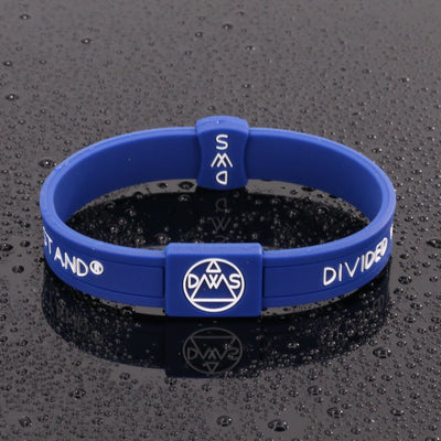 Blue Trump 2020 Silicone Wristband - Divided We Stand® Political & Social Gear