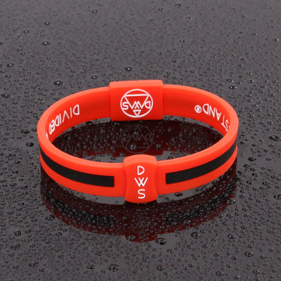 No More Guns Silicone Wristband - Divided We Stand® Political & Social Gear