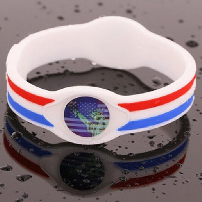 Statue of Liberty Hologram Silicone Band - Divided We Stand® Political & Social Gear