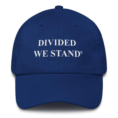 Divided We Stand Cotton Dad Cap - Divided We Stand® Political & Social Gear