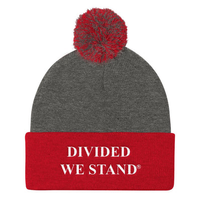Pom Pom Knit Cap - Divided We Stand® Political & Social Gear
