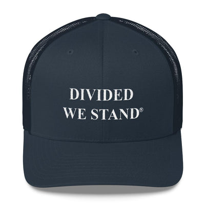 Divided We Stand Trucker Cap - Divided We Stand® Political & Social Gear
