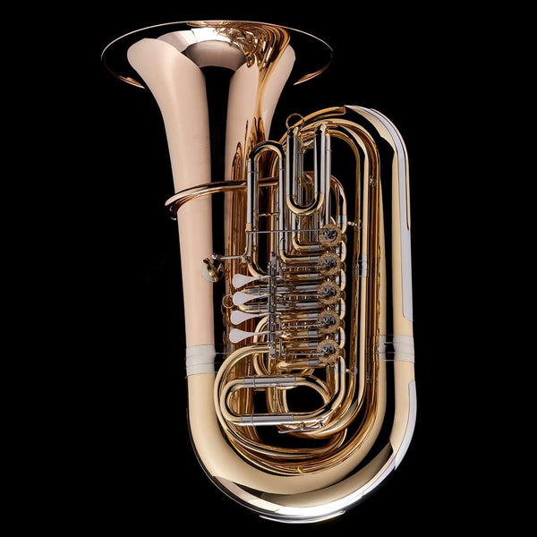 An image of a BBb 5/4 5-Rotary-Valve Tuba 'Luzern' from Wessex Tubas