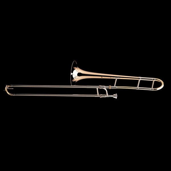 An image of a Bb Tenor Trombone (0.525″) from Wessex Tubas, facing left