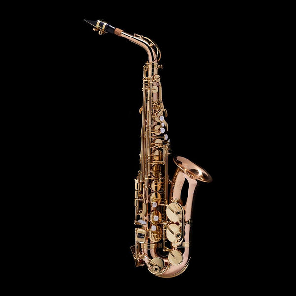 An image of an Alto Saxophone from Wessex Tubas (facing right)