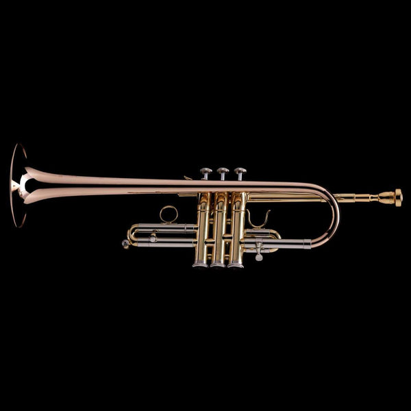 An image of  Eb/D Trumpet from Wessex Tubas, facing left
