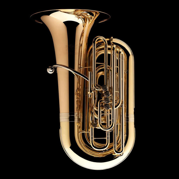 An image of a BBb 4/4 Tuba with 5-valves 'Viverna' from Wessex Tubas