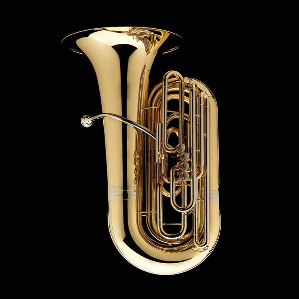 An image of a BBb 4/4 Tuba with 4-valves 'Dragon' from Wessex Tubas