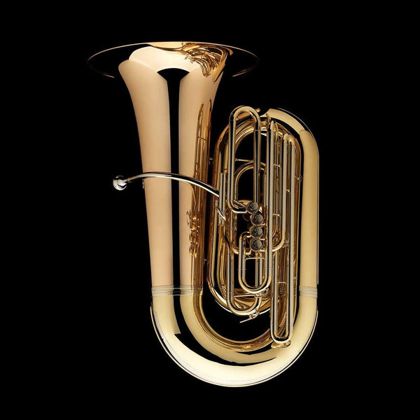"An image of a BBb 6/4 Front-Piston Tuba ""Grand"" from Wessex Tubas"